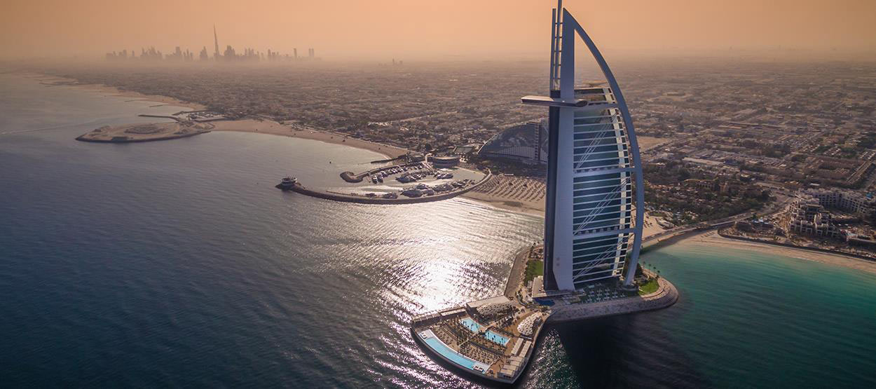 A MASTERPIECE OF INNOVATION – Burj Al Arab luxury Terrace beach resort
